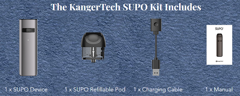 Kanger SUPO Pod Kit Features 07
