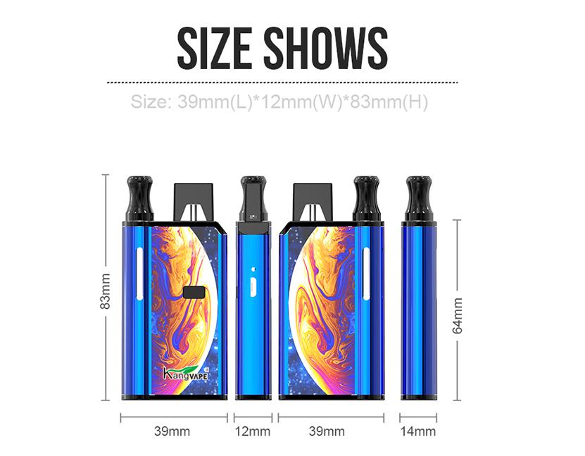 Kangvape 420-2IN1 Mod Size
