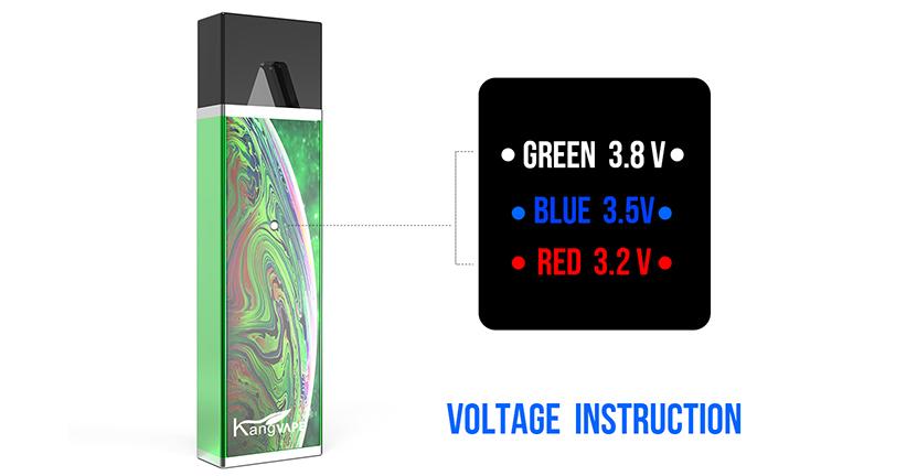 Kangvape D-pod V1 Vape Kit Voltage