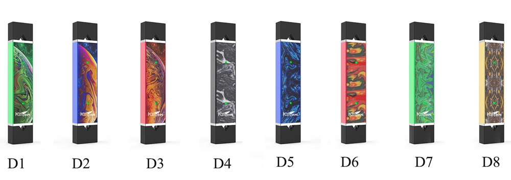 Kangvape D-pod Vape Kit colors