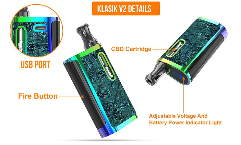 Kangvape Klasik V2 Starter Kit Details