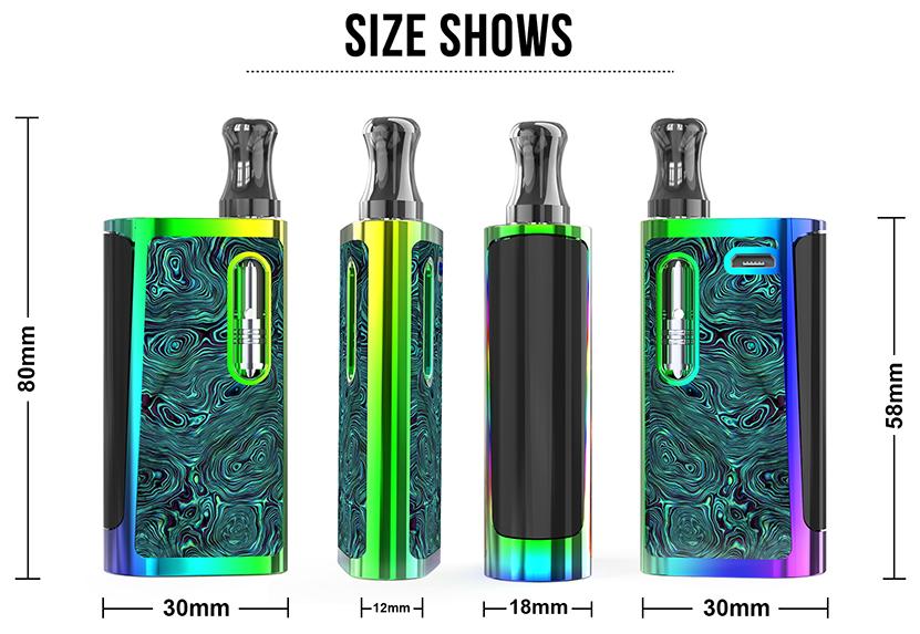 Kangvape Klasik V2 Vape Kit Size