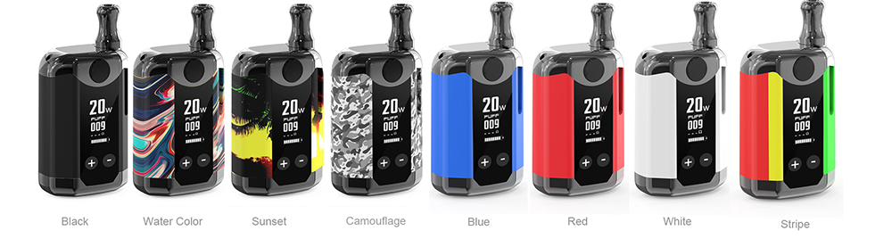 Kangvape TH-420 V BOX Kit Gunmetal Edition colors