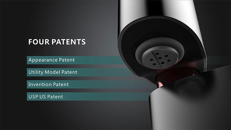 Kington Oval Vape Kit Patents