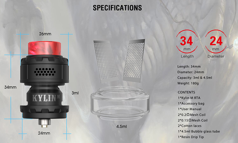 Kylin M RTA Specification