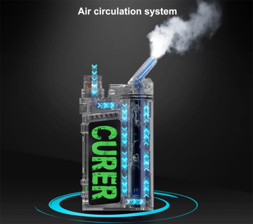 LTQ Vapor Curer Kit airflow