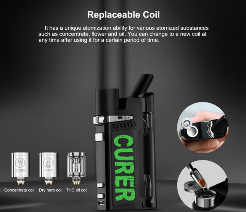 LTQ Vapor Curer Kit coil