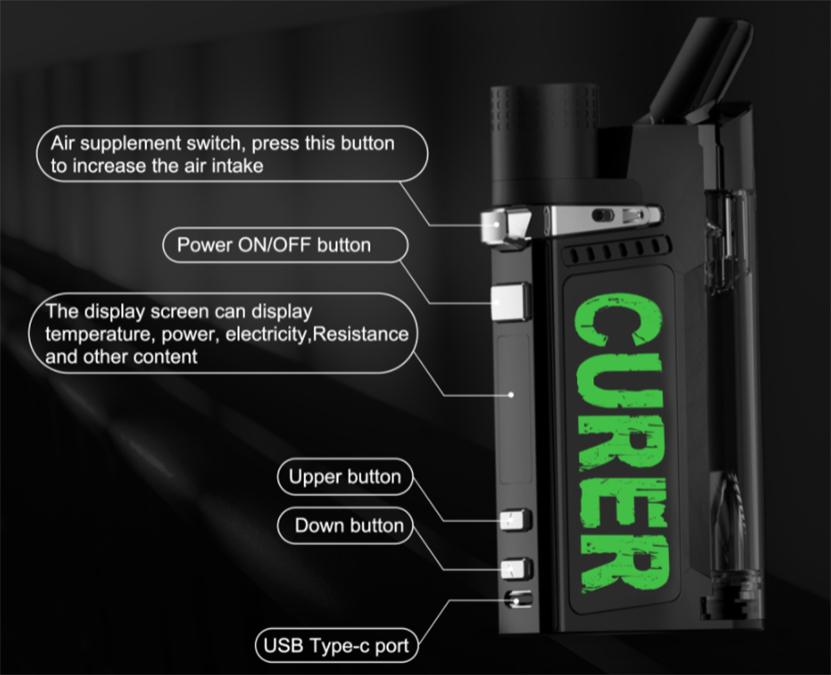 LTQ Vapor Curer Kit component