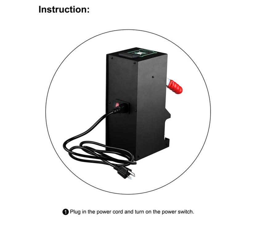 LTQ Vapor Rosin Press Machine KP-2 Feature 2