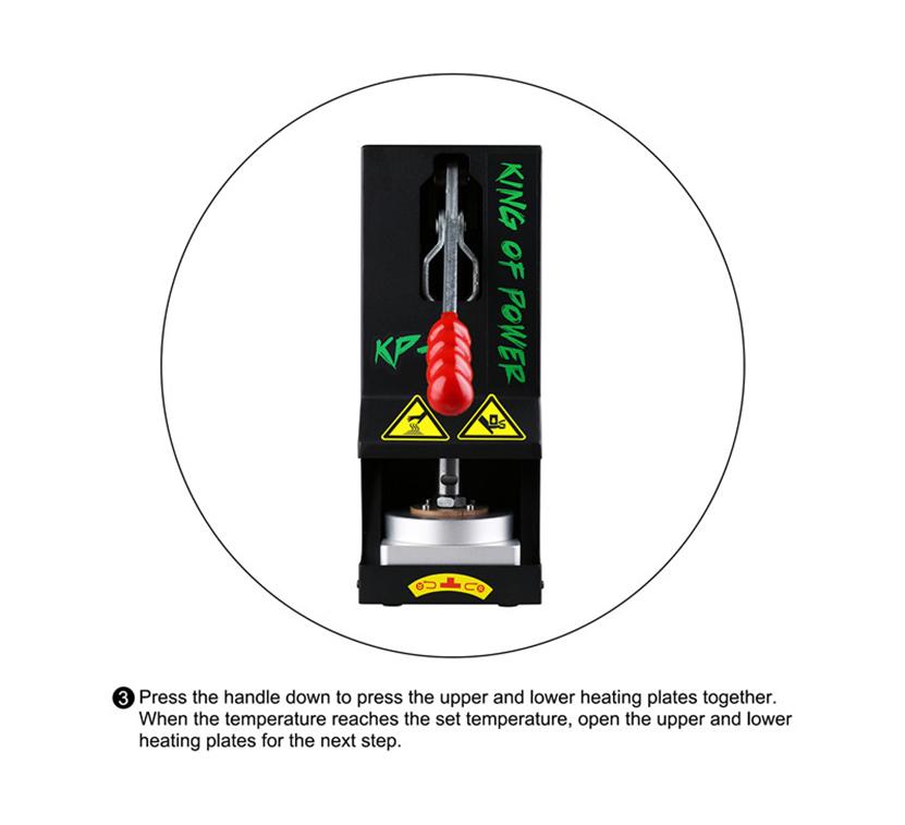 LTQ Vapor Rosin Press Machine KP-2 Feature 4