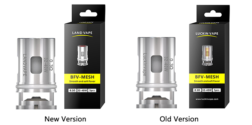 Land Vape BFV Coil comparison