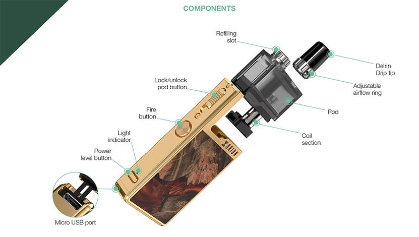 Lost Vape Orion Plus DNA Kit component