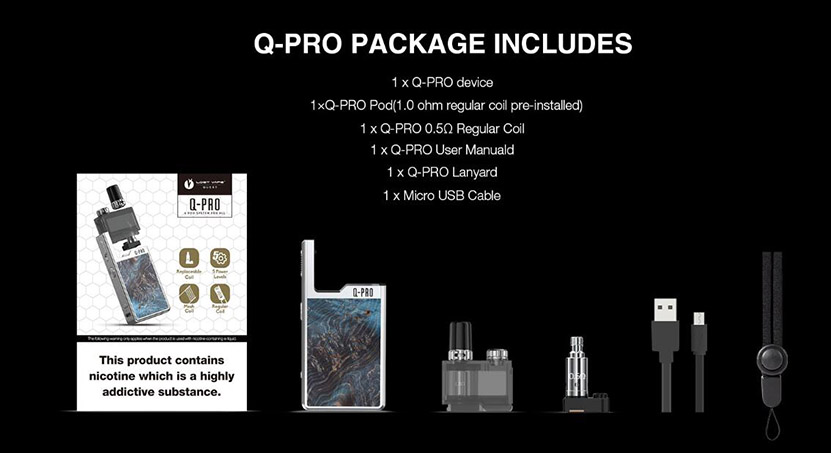 Lost Vape Orion Q-PRO Pod Kit Feature 5