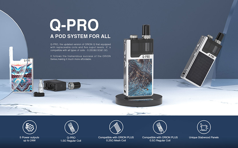 Lost Vape Orion Q-PRO Pod Kit Feature 6