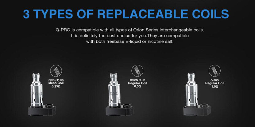 Lost Vape Orion Q-PRO Pod Kit Feature 8