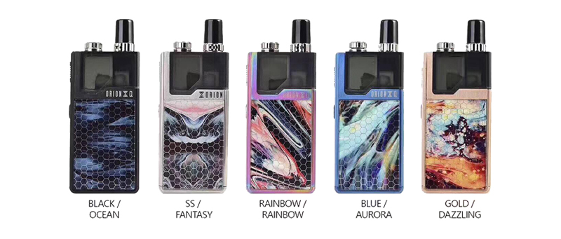 Lost Vape Orion Q Kit Colors