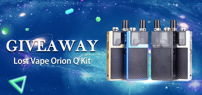 Lost Vape Orion Q Kit Giveaway