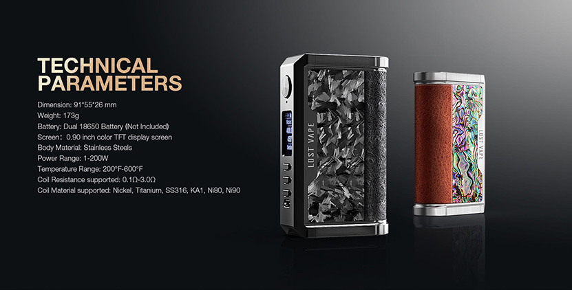 Lost Vape Centaurus DNA250C Mod Feature 11