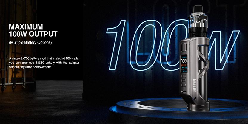 Lost Vape Cyborg Quest 100W Kit Feature 1