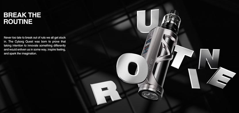 Cyborg Quest 100W Kit Feature 2