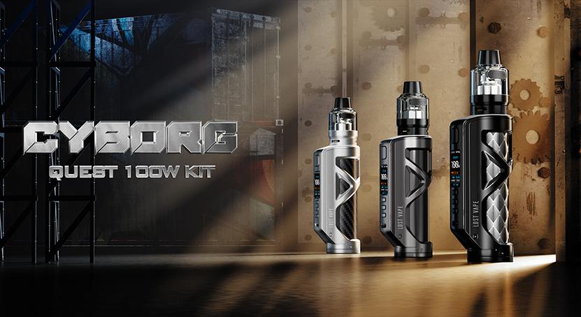 Lost Vape Cyborg Quest 100W Kit Feature 6