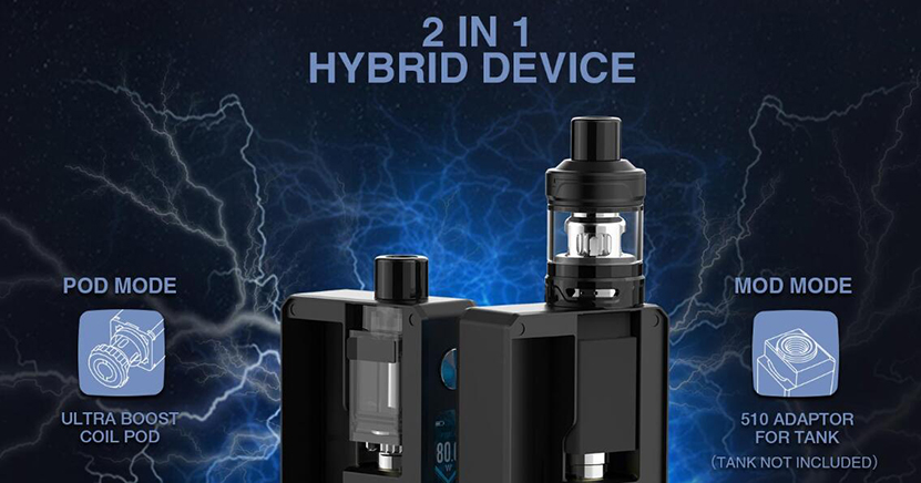 Lost Vape Gemini Hybrid Kit Feature 1