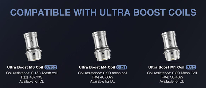Lost Vape Gemini Hybrid Kit Feature 3