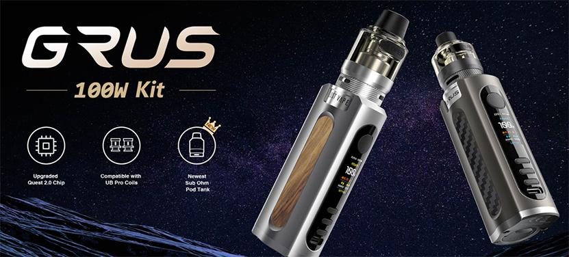 Lost Vape Grus 100W Kit feature1