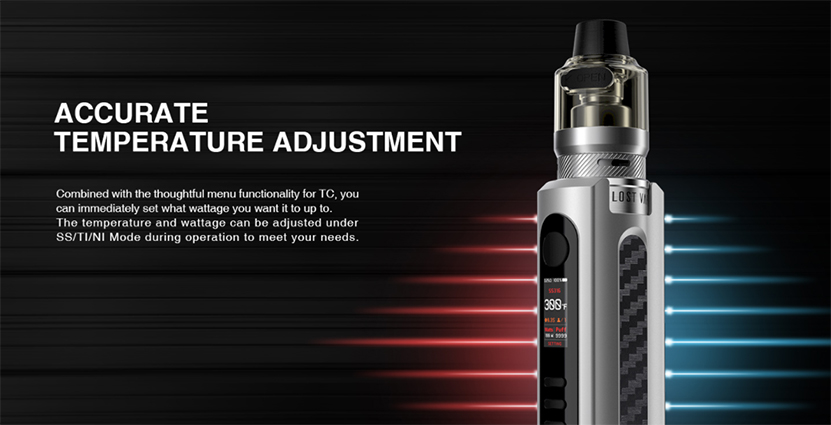 Lost Vape Grus 100W Kit feature9