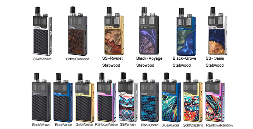 Lost Vape Orion Q-PRO Pod Kit Colors
