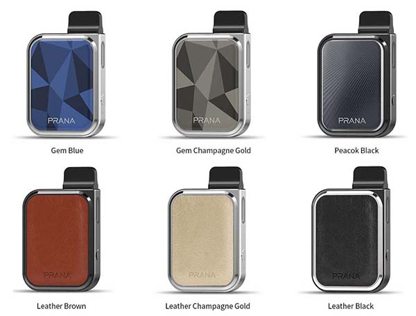 Lost Vape PRANA Vape Kit Colors