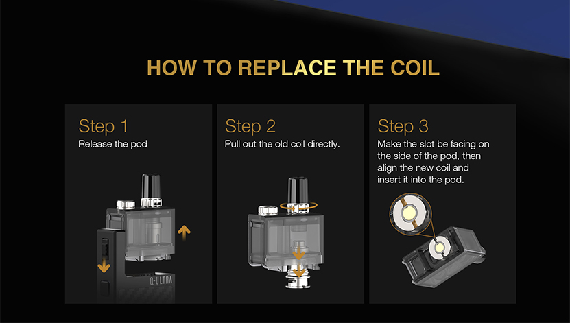 Q-ULTRA Pod Kit Coil Replacement