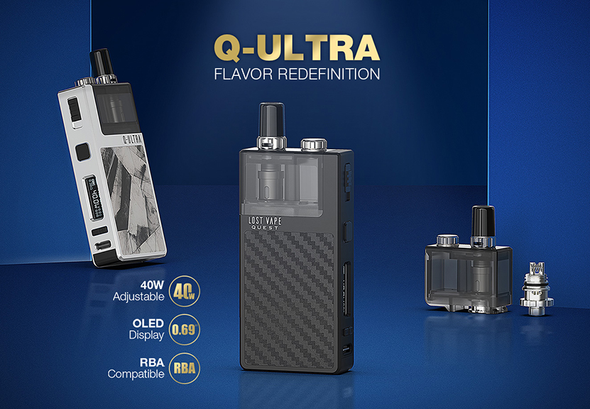 Q-ULTRA AIO Pod Kit Features