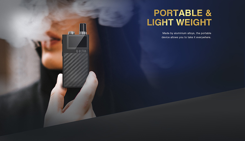 Q-ULTRA AIO Pod Kit Portable