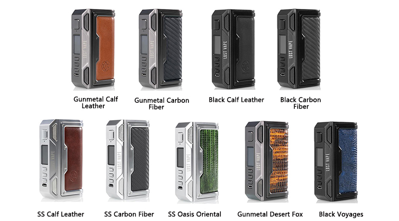 Lost Vape Thelema DNA250C Mod Colors
