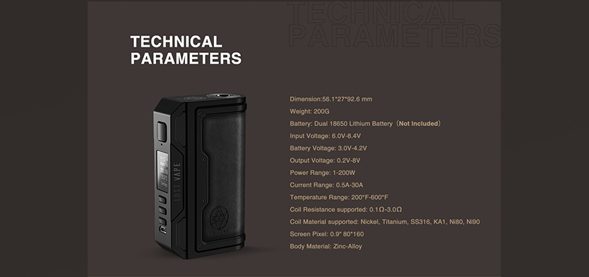 Lost Vape Thelema DNA250C Mod Feature 8