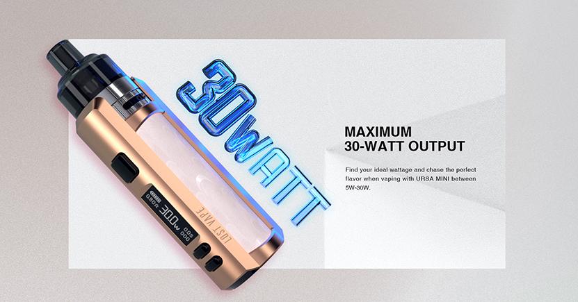 Lost Vape Ursa Mini Kit 30W max power