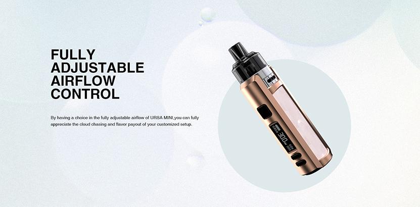 Lost Vape Ursa Mini Pod Kit Adjustable airflow
