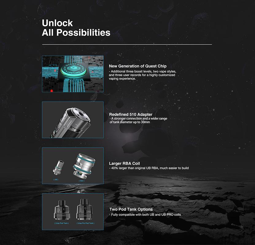 Lost Vape Ursa Quest Multi Kit Feature 10