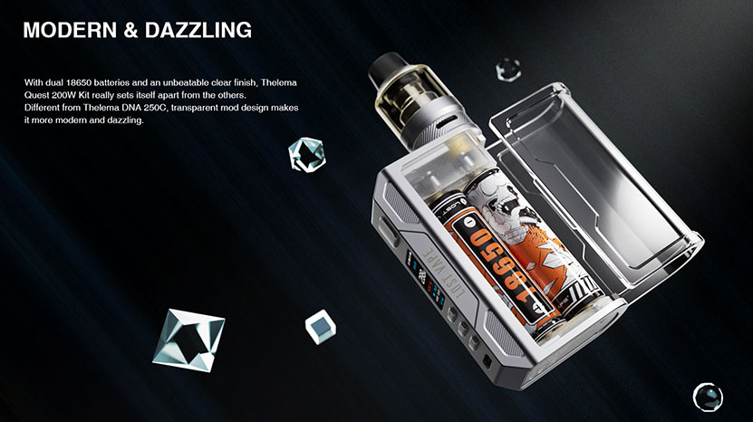 Lostvape Thelema Quest 200W Kit Style
