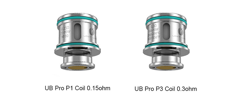 UB Pro coil description