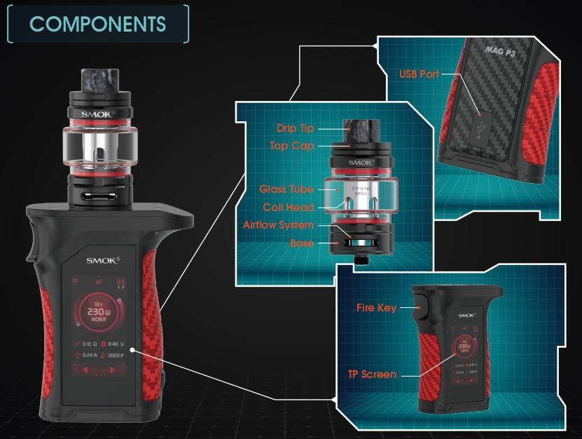 MAG P3 Vape Kit Component