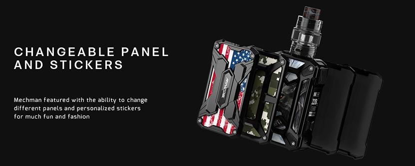 Mechman Starter Kit Panel
