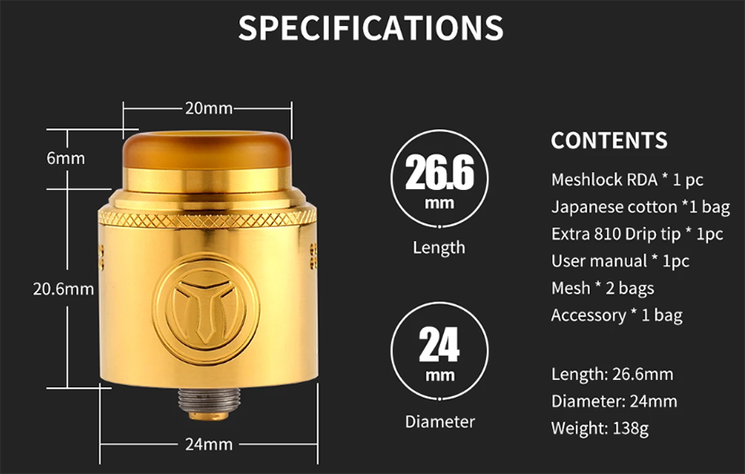 Meshlock RDA Specification