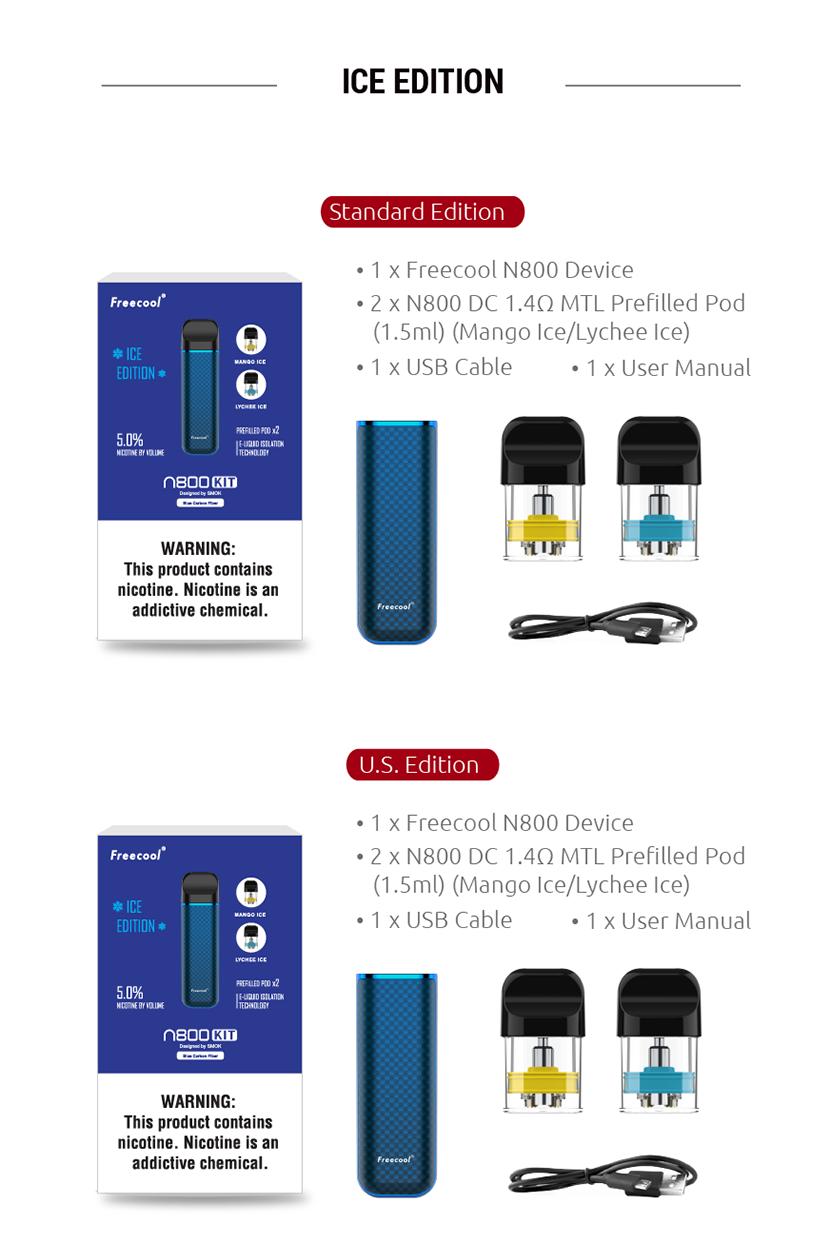 N800 Pod System Kit Package