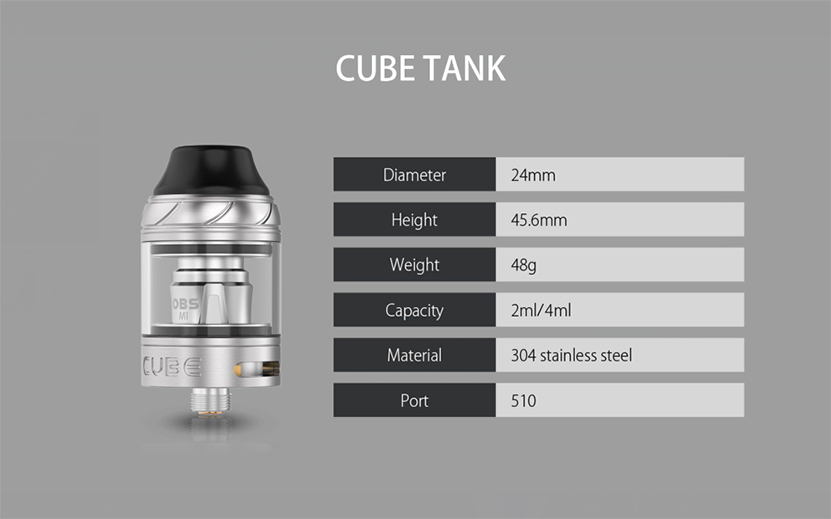 OBS CUBE FP Kit Feature 9