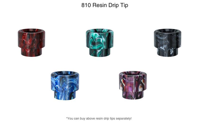 OBS Engine S Tank 810 Drip Tip