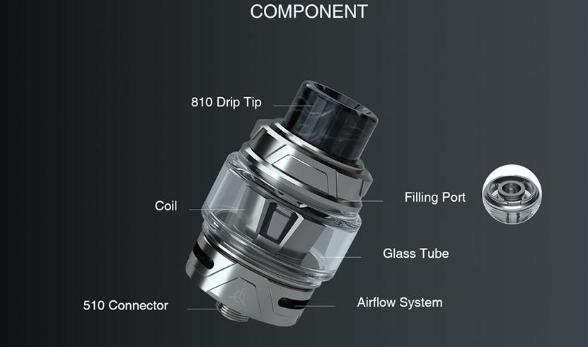 Engine S Sub Ohm Tank Component