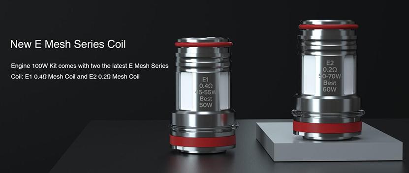 Engine S Sub Ohm Tank Mesh Coil
