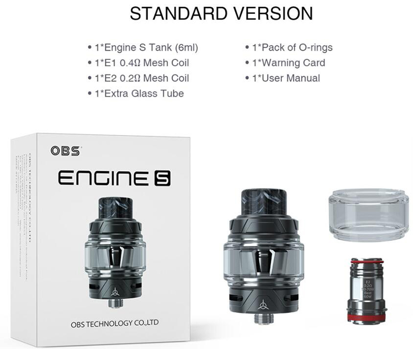 OBS Engine S Tank Package